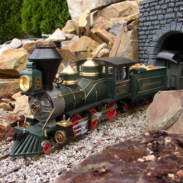 Nostalgische Modellbahn Dampflock