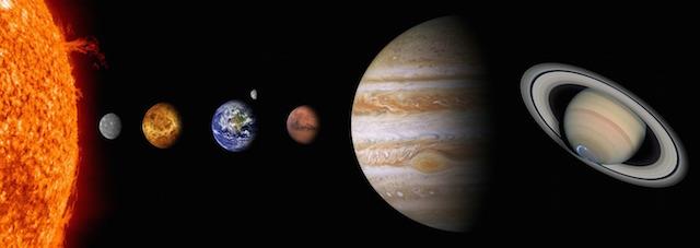 Die fünf Planeten