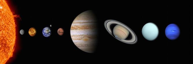 Sonne, Erde und das Sonnensystem als astrologische Berechnungsgrundlage für unsere Horoskope